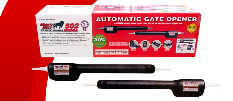 Mighty Mule FM502 Dual Gate Opener (FM502)