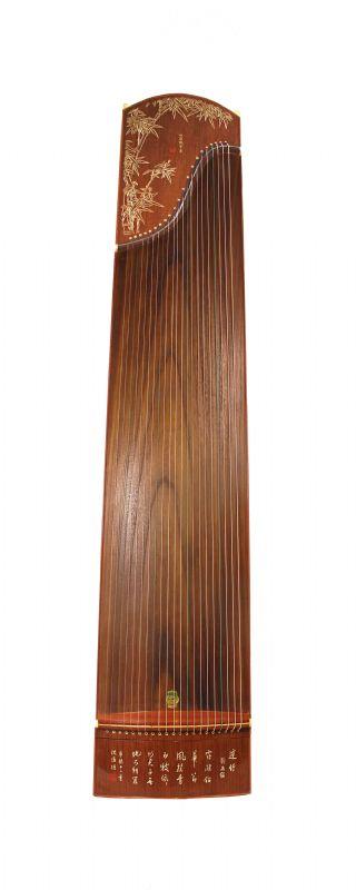 Bamboo Etched Guzheng 689E