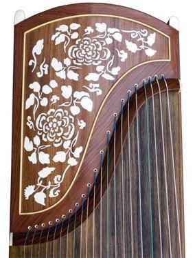 Carved Roses Guzheng 694TT