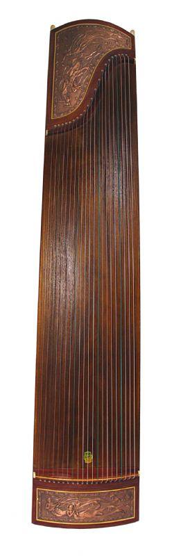 Ethereal Inlay Design Metallic Toned Guzheng 694U