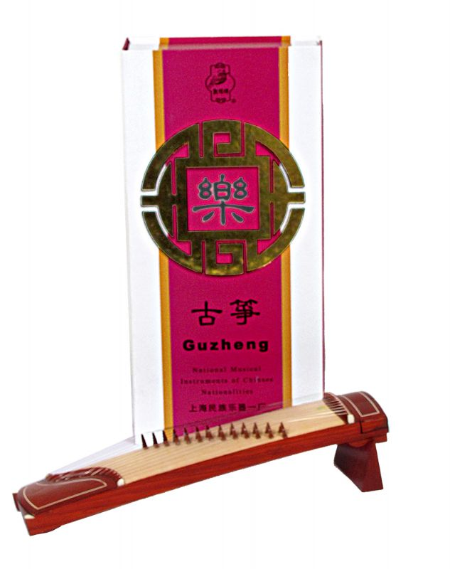 Collector Model Minature Guzheng