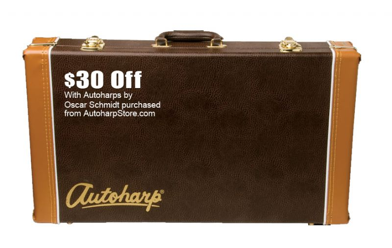 Deluxe Hardshell Case For Autoharp (AC449)