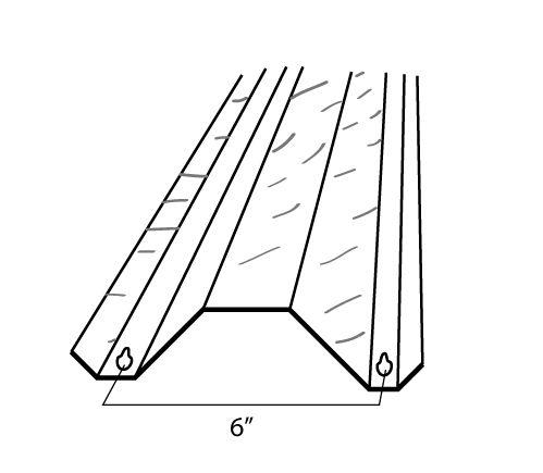 Half Transparent Lexan Panel (per square foot)