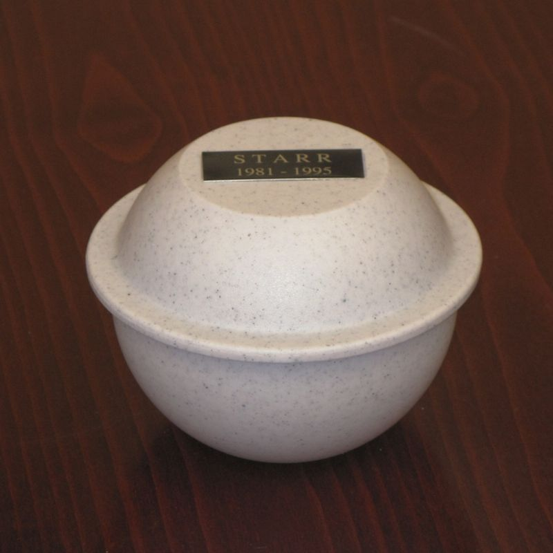 Saturn Urn For Dog & Cat Ashes