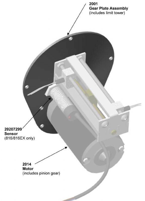 Gear Plate Assembly