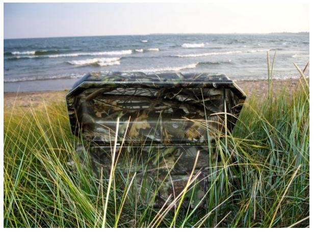 32 Basic Realtree® Hardwoods Camouflage Large Pet Casket Hoegh
