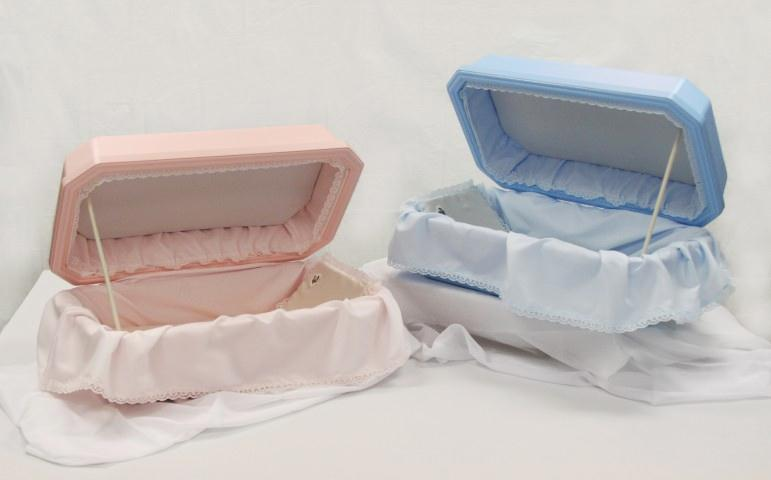 #24 VIPC Deluxe Style - Double Wall Pet Casket Hoegh - Pastel Pink