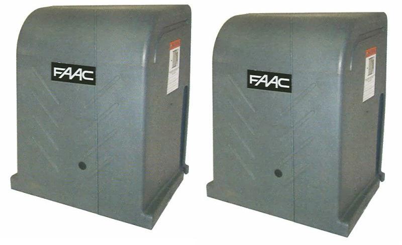 FAAC 120V / 24VDC DSL2000 Commercial Dual Slide Gate Operator