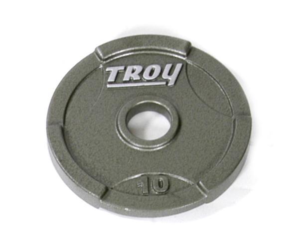 Troy Interlocking Olympic Grip Plate - 10 LB (GO-010)