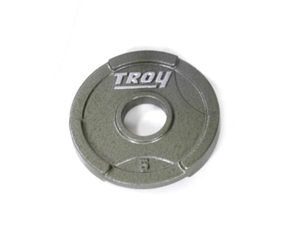 Troy Interlocking Olympic Grip Plate - 5 LB (GO-005)