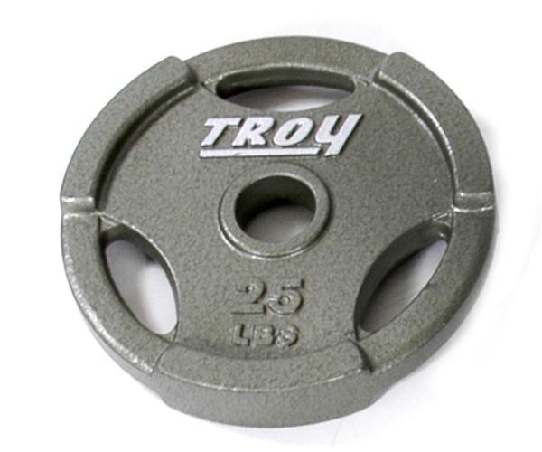 Troy Interlocking Olympic Grip Plate - 25 LB (GO-025)