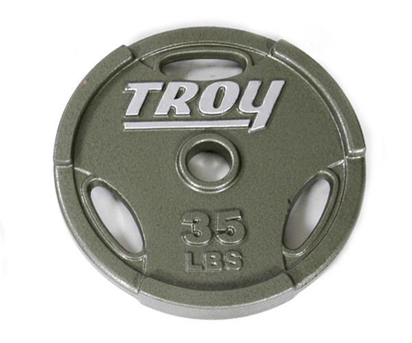 Troy Interlocking Olympic Grip Plate - 35 LB (GO-035)