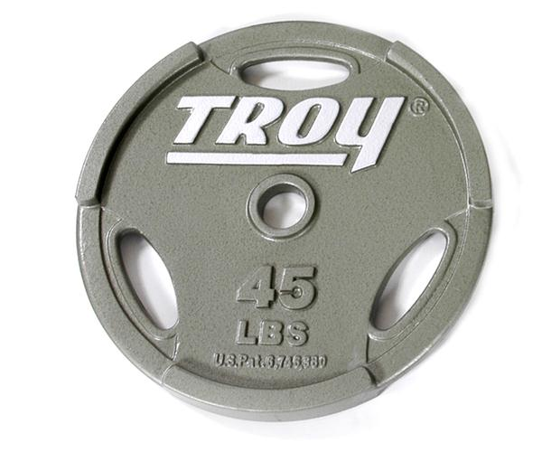 Troy Olympic Interlocking Grip Plate - 45 LB (GO-045)