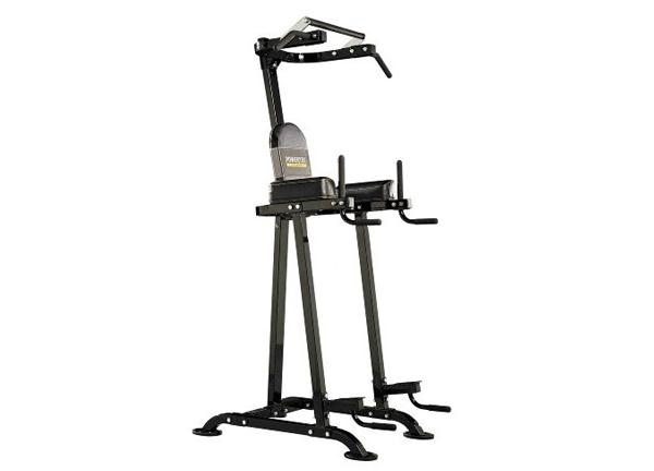 Powertec Vertical Chin/Dip/Ab Machine (P-BT13) | Home Workout Equipment
