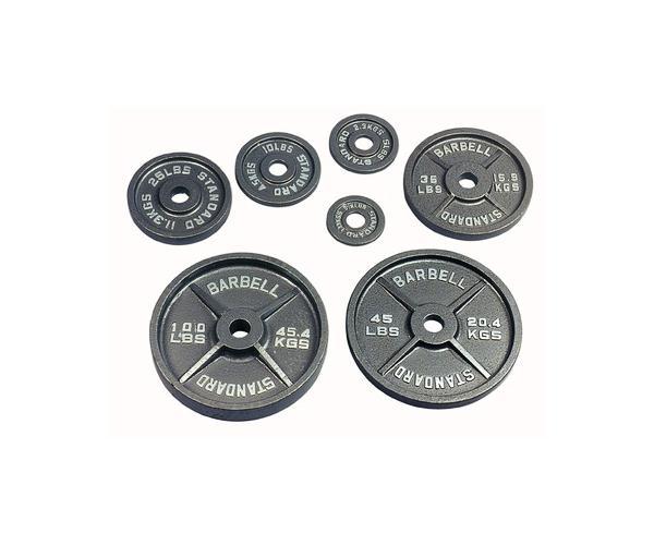 USA Sports 255 Lb Olympic Weight Set (O-255WeightSet)