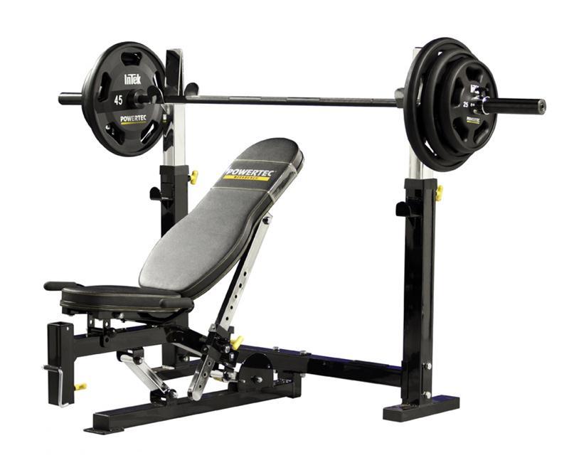 Powertec Olympic Bench (WB-OB11) | Bench Press, Squat, Shoulder Press