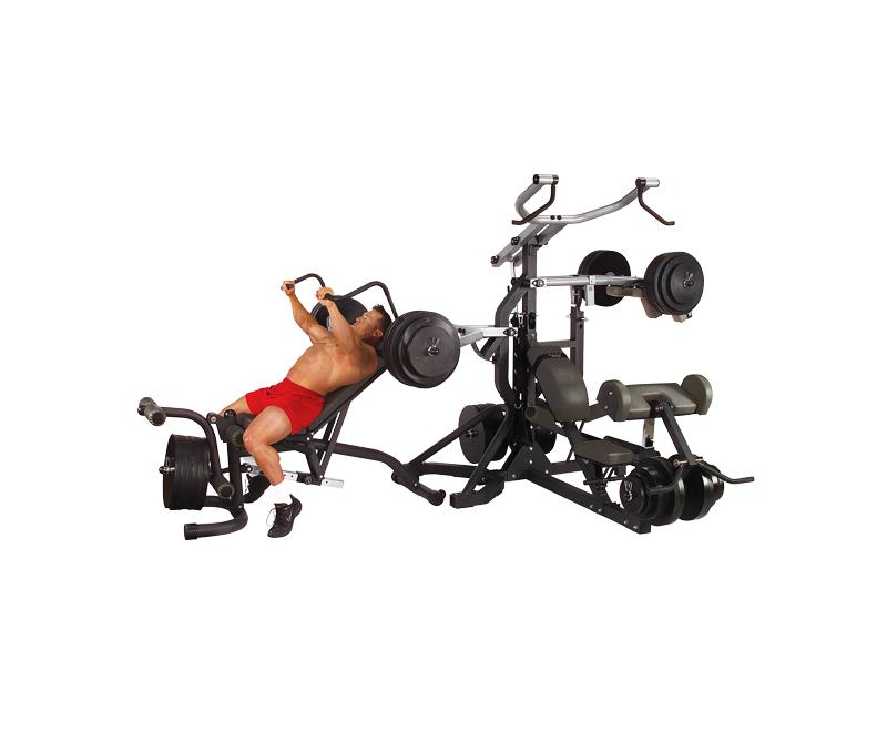 Body Solid Powerlift Leverage Gym (SBL460P4)| Home Workout Equipment