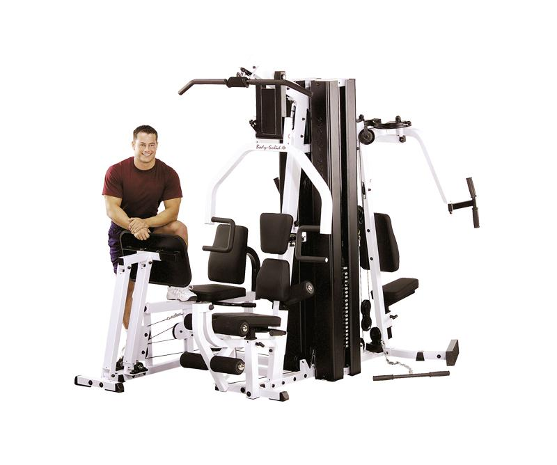 Body Solid Two Stack Home Gym (EXM3000LPS) | Home Workout Equipment