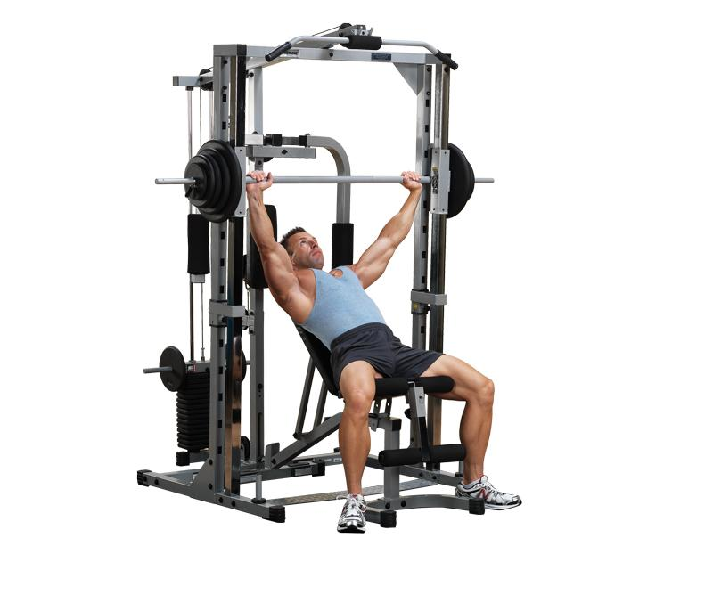 Body Solid Powerline Smith Machine System (PSM1442XS) - BestBuyFitness