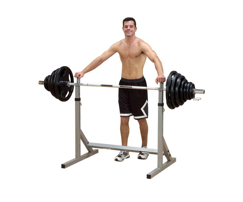 Body Solid Squat Rack Cage (PSS60X) | POWERLINE Squat Rack