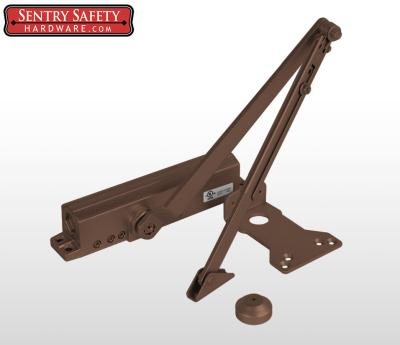 Sentry Safety 9024 Commercial Door Closer CS, LS, BC, AS, DA, #4  - Bronze Finish
