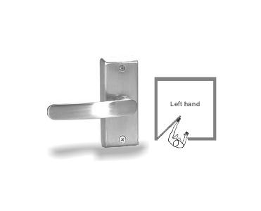 Sentry E. Labs Switched Door Lever Handle Series (Right or Left Handed) - L (Left-handed)