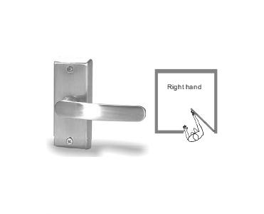 Sentry E. Labs Switched Door Lever Handle Series (Right or Left Handed) - R (Right-handed)
