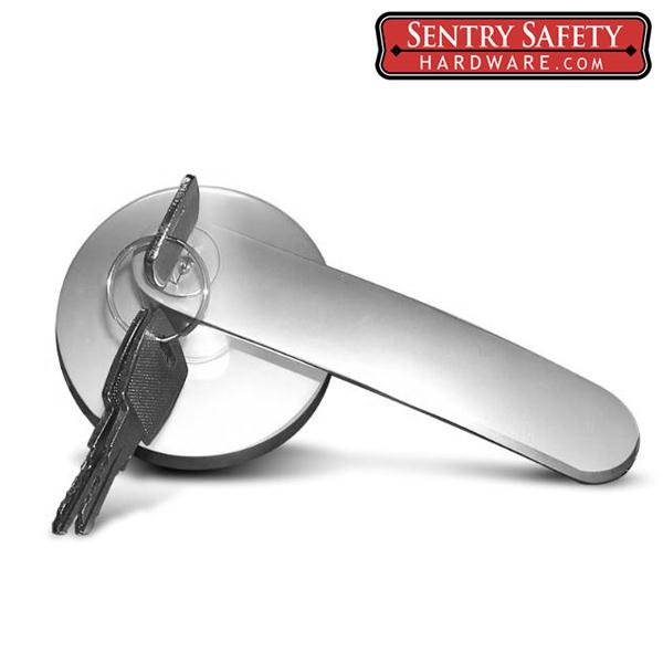 Sentry Safety Trim: Lever Handle