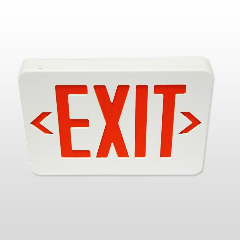 Sentry E. Labs Emergency Exit Sign Model  GX-200NR (Red)
