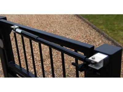 LockeyUSA Pedestrian Hydraulic Gate Closer TB600 - Black
