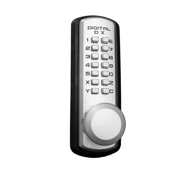 LockeyUSA 310-P Keyless Medium Duty Knob Lock Trim - Standard