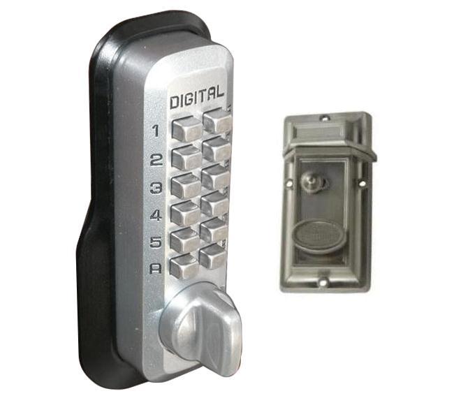 LockeyUSA M213 Keyless Night Latch Door Lock