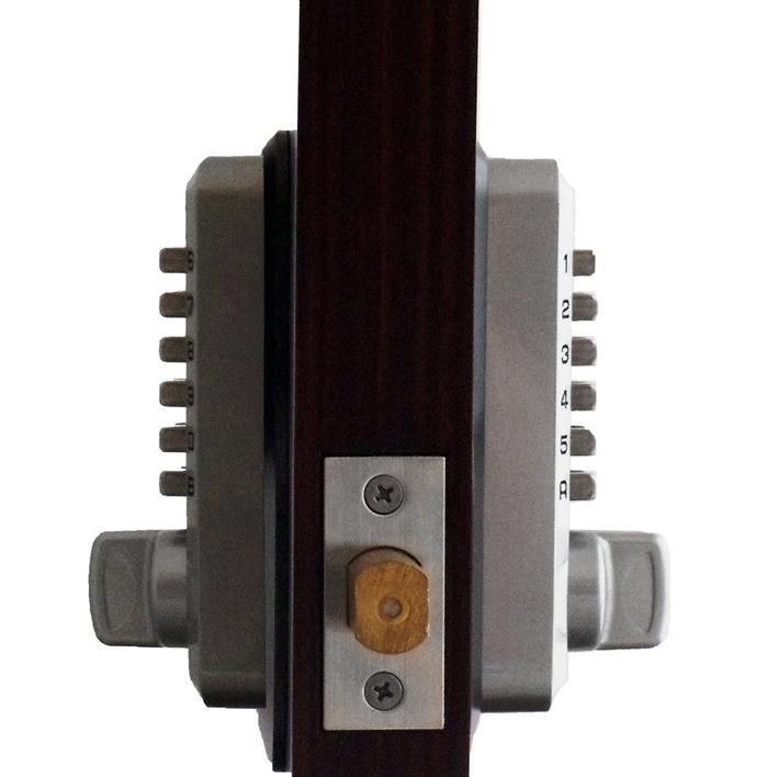 LockeyUSA M230DC Dual Combination Deadlocking Spring Latch Lock