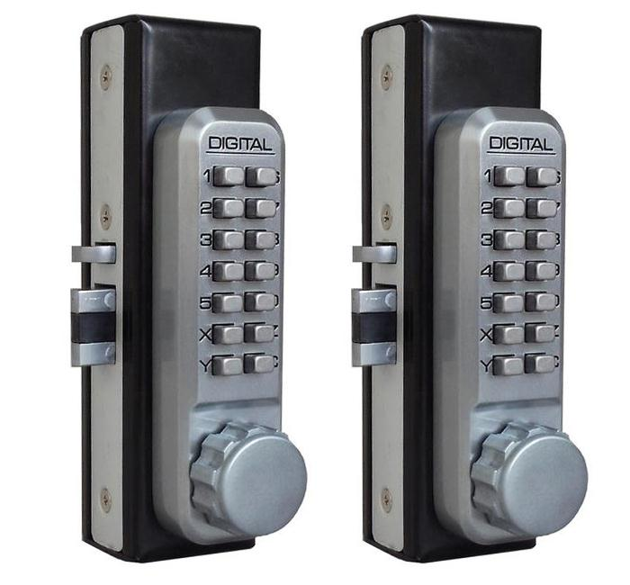 Lockeyusa Gb900 Gate Box For Keyless Locks Steel Gate