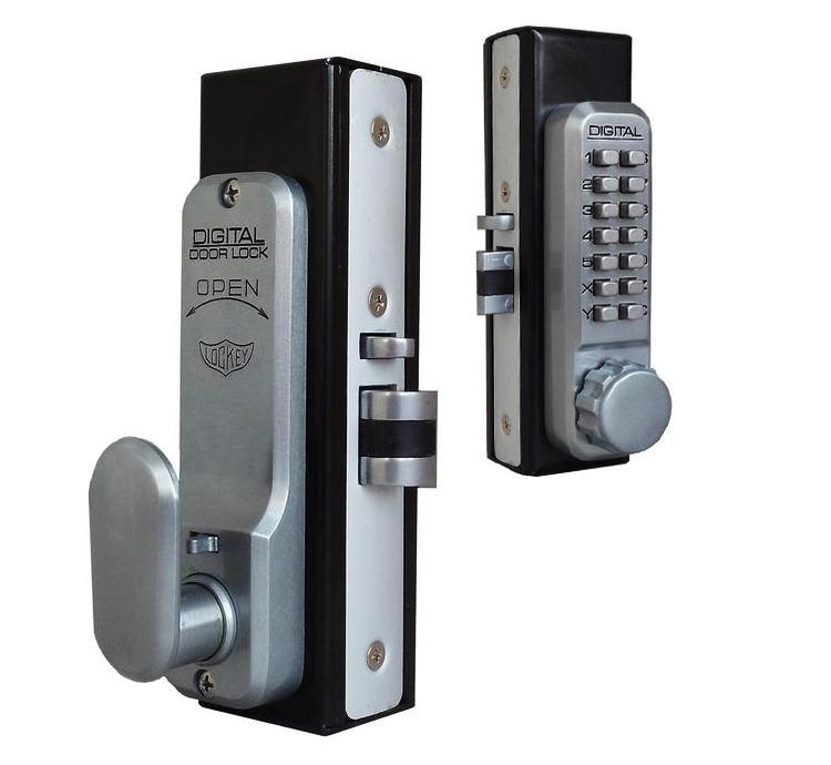 LockeyUSA 2945 Adams Rite Style Lock with Inside Lever