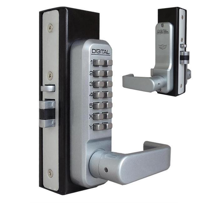 LockeyUSA 2985 Adams Rite Style Lever Handle Lock