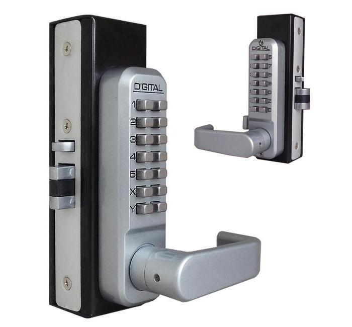 LockeyUSA 2985DC Double Combination Adams Rite Style Lever Lock