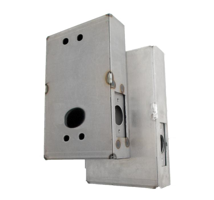 LockeyUSA GB1150 Gate Box for Keyless Locks - Steel Gate Box