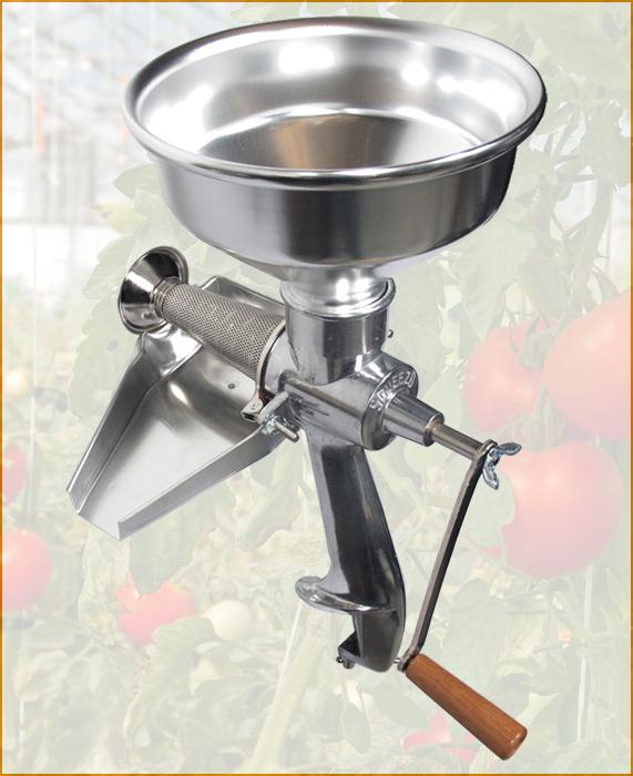 The Original All-Metal Squeezo Manual Tomato Strainer