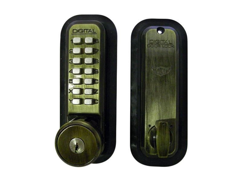 LockeyUSA 2210 Key Override Mechanical Deadbolt Door Lock
