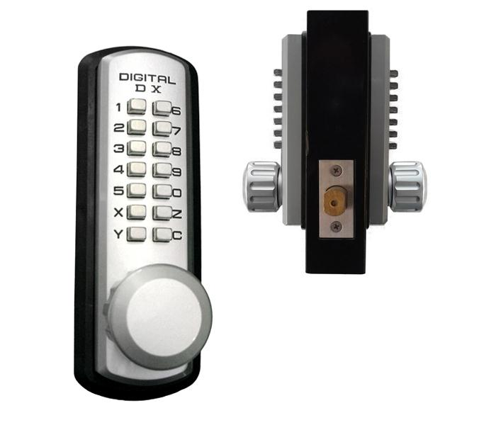 Lockeyusa 3210 Marine Grade Dual Combination Keyless Door