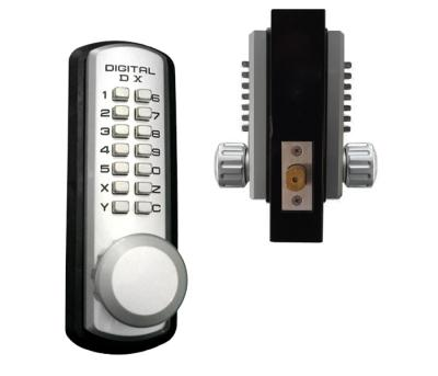 LockeyUSA 3230 Marine Grade Dual Combination Keyless Door Lock - 2 3/8""