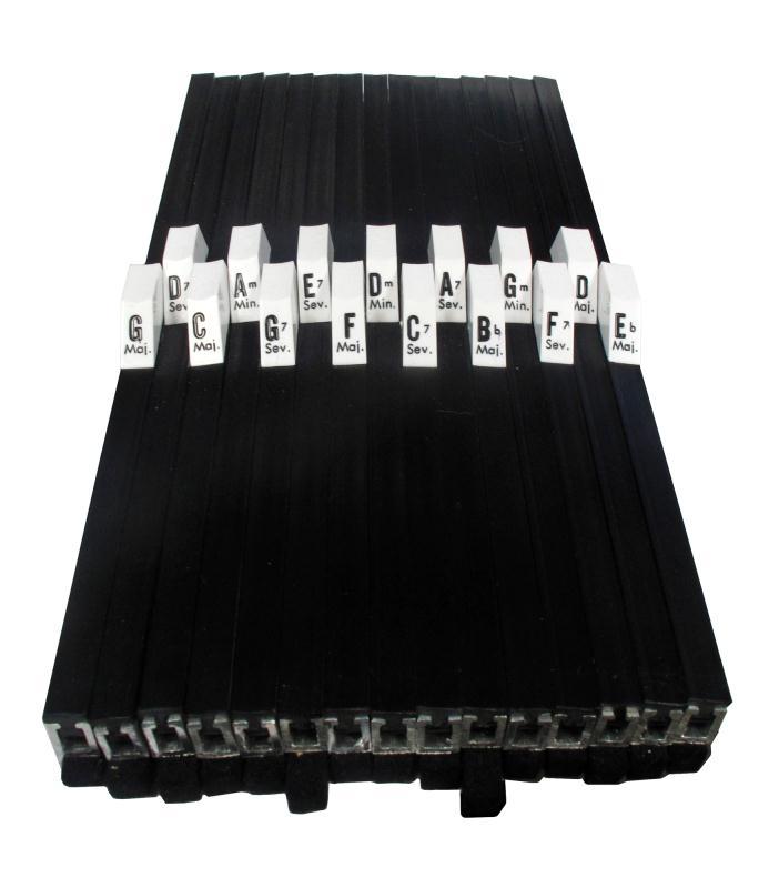 15 Chord Autoharp Single Buttons - Select Button