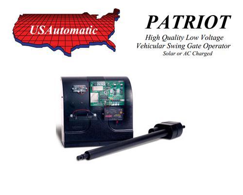 U S Automatic Patriot Single Swing Gate Operator 433