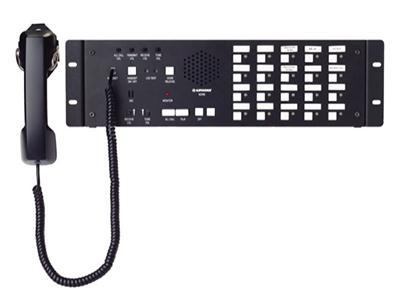 NDRM-20  20-call rack mount communication and Access/Camera control system