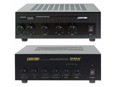 DMA2120 120 Watt  paging amplifier