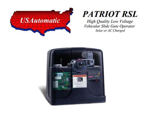 Us Automatic Patriot >> U S Automatic Patriot Rsl Single Slide Gate Operator