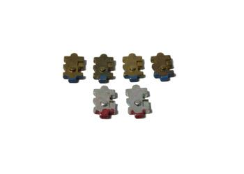 LockeyUSA Keyless Lock Tumbler Kit - For 2000 Series Locks