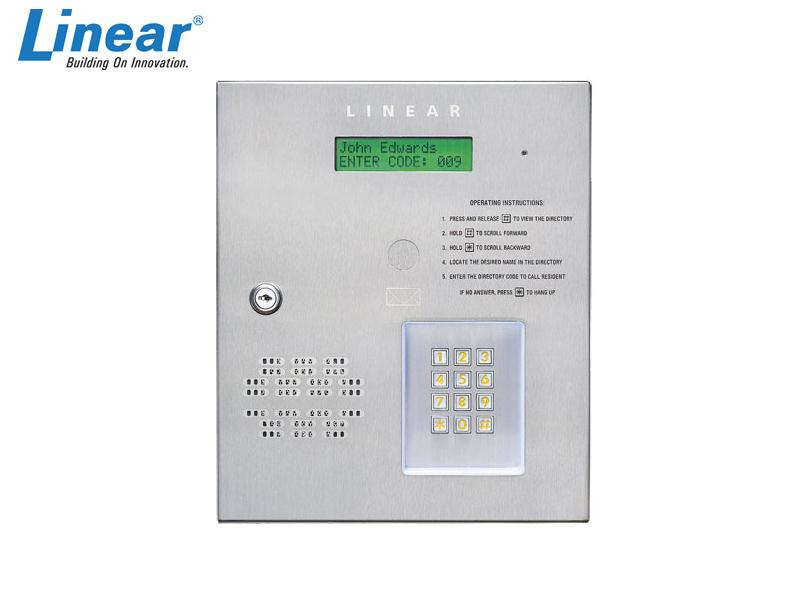 Linear AE-500 Telephone Entry System