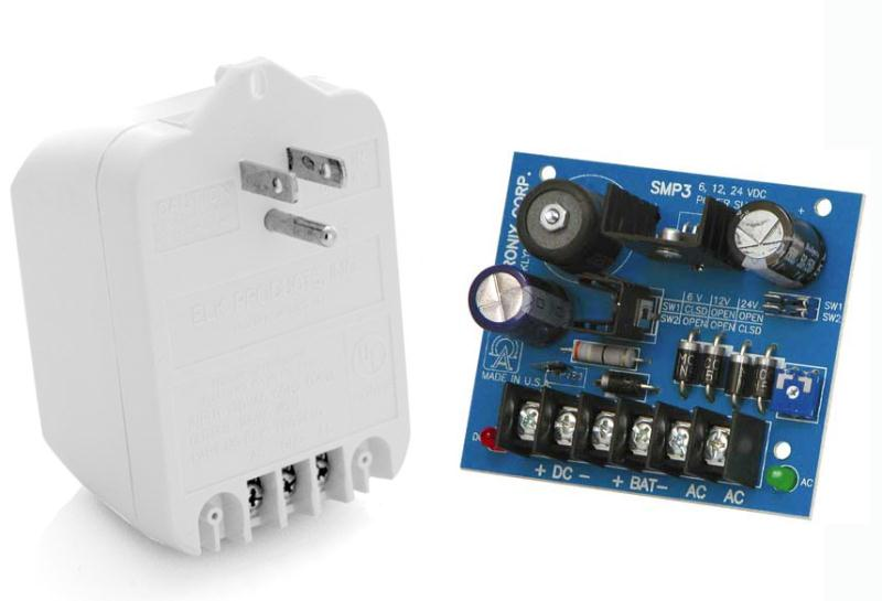 Direct power w/ battery backup E-S1100 / E-S 1102 add on kit by GateCrafters.com